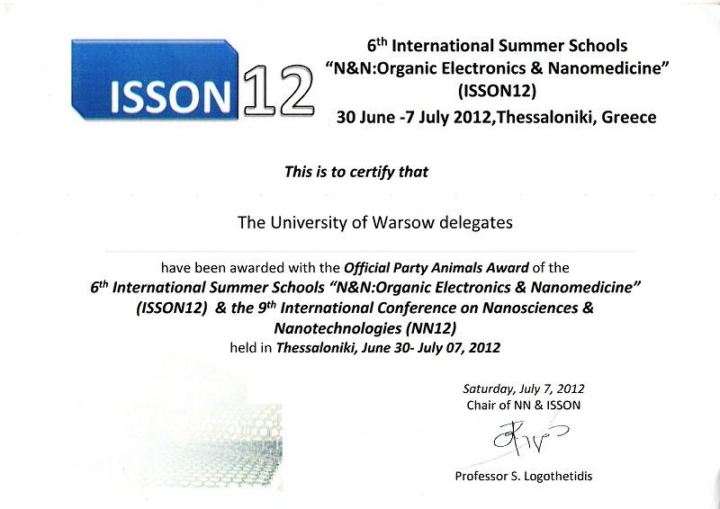 ISSON12