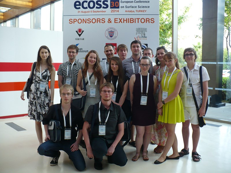 Studenci na ECOSS 2014